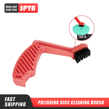 SPTA Polishing Disc Cleaning Brush Buffing Sponge Wool Pads Cleaning Brushes Car Polishing Pads Cleaning Tool