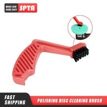 SPTA – disques de polissage pour voiture, brosse de nettoyage, éponge, tampons en laine