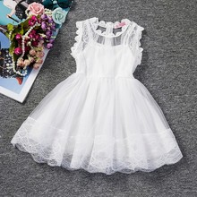 Baby Girl Floral Lace Tutu Dress Clothes 2-6Y