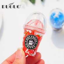 DUGUO cute stationery creative correction with ice cream milk correction with kawaii school supplies correction tape