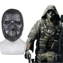 Tom clancy fantasma recon breakpoint máscara de látex cosplay cole d walker máscara halloween máscaras capacete adulto adereços