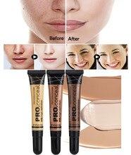 Nude Make-Up Gesichts Foundation Wasserdichte Abdeckung Makel Basis Flüssigkeit Concealer Öl Control Anhaltende Erhellen Haut BB Creme Kosmetik