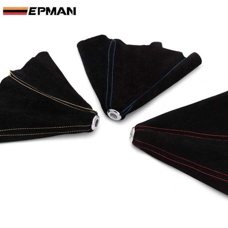 Epman Car Universal Suede Leather Gear Head Dirt-proof Cover/Modified Gear Head Dust Cover