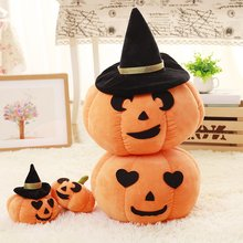 Halloween Pumpkin Plush Toy Devil Pillow Doll Gift