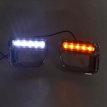 Car Daytime Running Light LED DRL Fog Lamp Driving Lamp for BMW Mini Cooper