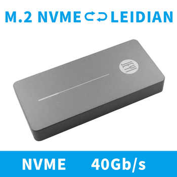 JEYI m.2 Nvme Enclosure HDD Box Case NVME TO TYPE-C CNC Aluminium TYPE C 3.1 M2 USB3.1 M.2 PCIE U.2 SSD Adapter Thunderbolt 3