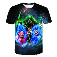 Summer Children Clothing 3D Printed T-shirt Boys Girls Dragon Ball T shirt Kids clothes Fashion Tshirts Tops Costume