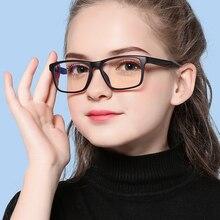 COOLSIR New Kids Computer TR90 Eyewear Frames Anti-blue Light Flexible Children
