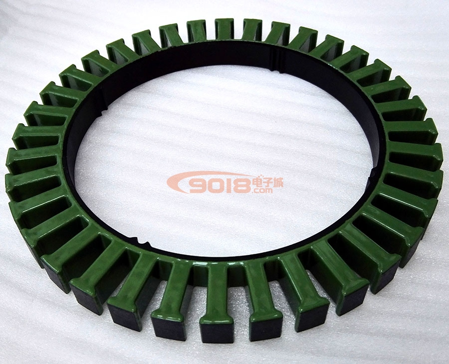 13710 Large Diameter Disc Brushless DC Motor Generator Stator Core Silicon Steel Sheet 36N42P