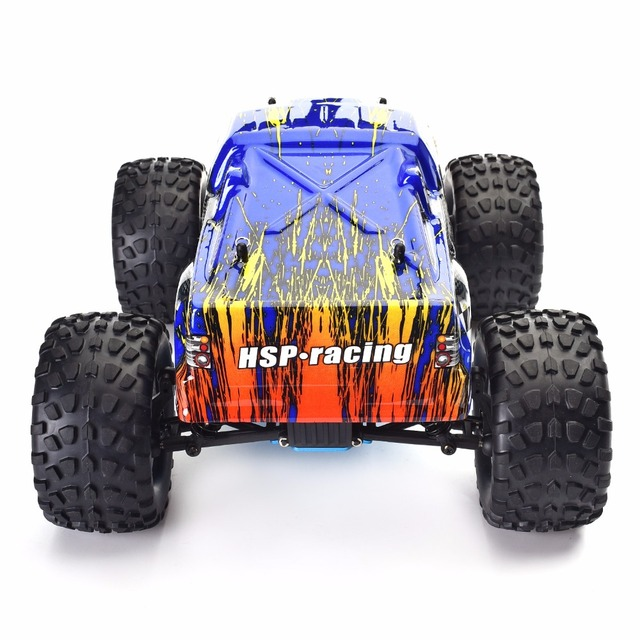HSP RC Truck 1:10 Scale Nitro Gas Power Hobby Car Two Speed Off Road Monster Truck 94108 4wd High Speed Hobby Remote Control Car 3