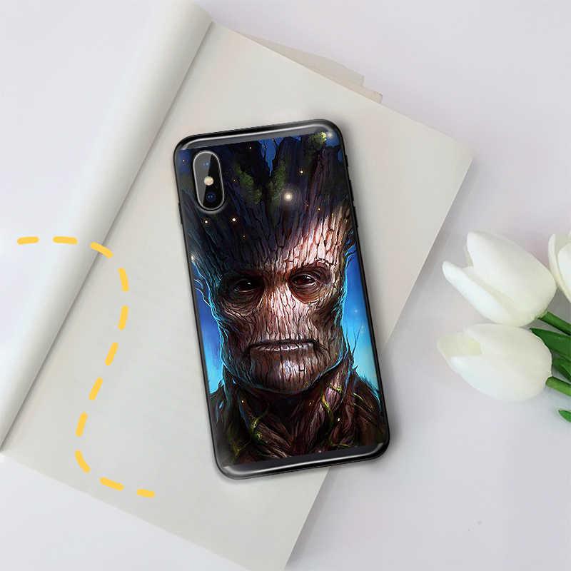 Guardianes de la galaxia del teléfono caso para Xiaomi Mi6 8 Lite SE MAX 3 9E 5X 6X F1 A1 A2 funda de TPU suave Lite A1 6