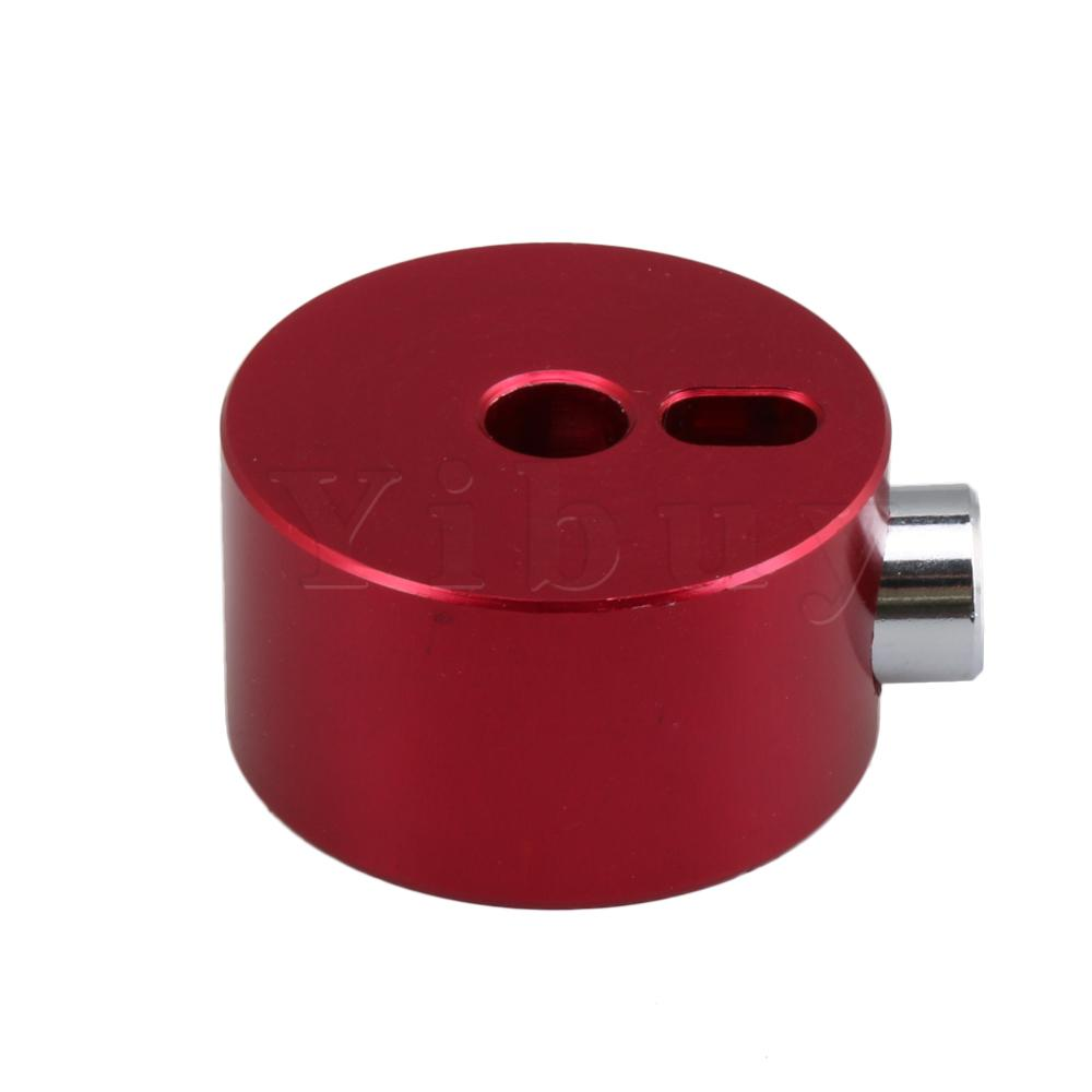 Yibuy Red Metal Alloy Quick-Set Cymbal Mate for Percussion Instrument Drum Kit