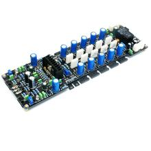 LME49810 400W 8Ω 2SA1943/2SC5200 2SA1930/2SC5171 UPC1237 Mono DC Servo Class AB Power Amplifier Board free ship lm3886 mount 2x68w dc servo current dynamic feedback power amplifier board