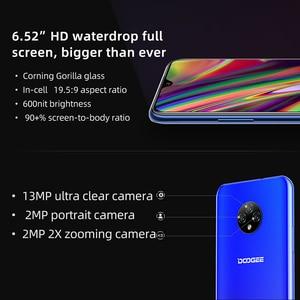 Image 2 - Doogee teléfono inteligente X95, teléfono móvil con pantalla de 6,52 pulgadas, Android 10, 4G LTE, cámara Triple de 13.0mp, 2GB RAM, 16GB ROM, procesador MTK6737, batería de 4350mAh