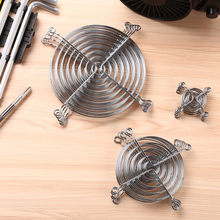Grill-Protector Ventilator Cooling-Fan Metal-Wire for PC CPU 5pcs Finger-Guards Silver-Tone