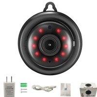 Telecamera Wifi 1080P V380 Mini telecamera IP visione notturna a infrarossi senza fili rilevazione di movimento Audio bidirezionale Motion Tracker sicurezza domestica
