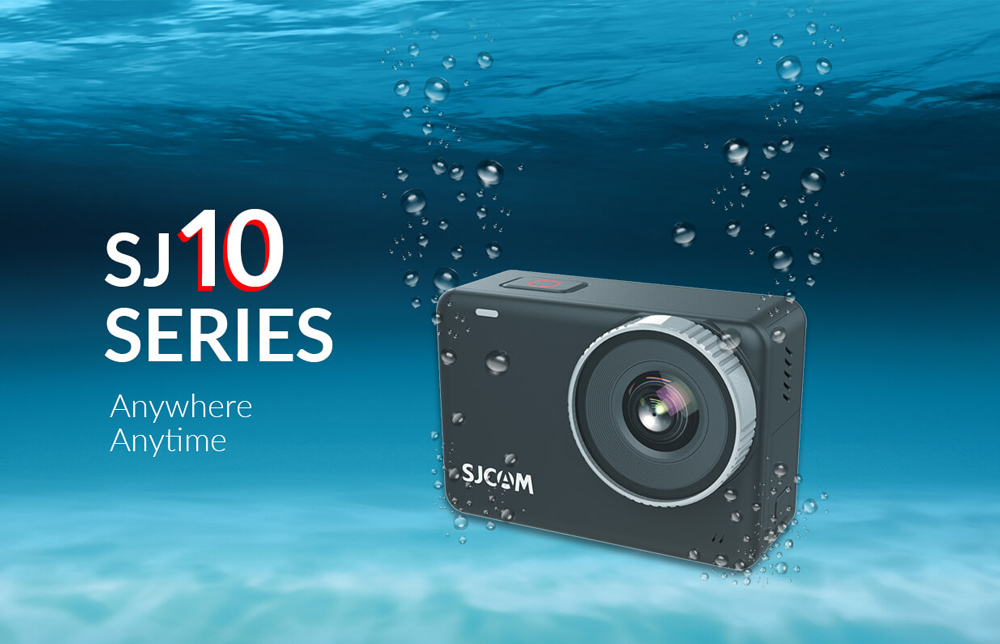 Sjcam sj10 pro action camera supersmooth 4k 60fps wifi remote ambarella h22 chip sports video camera 10m body waterproof dv