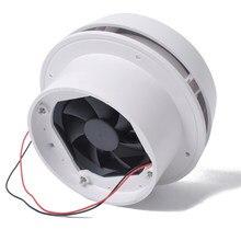 Ventilador de ventilación silencioso para techo de autocaravana, sistema de ventilación lateral para viaje, remolque, furgoneta