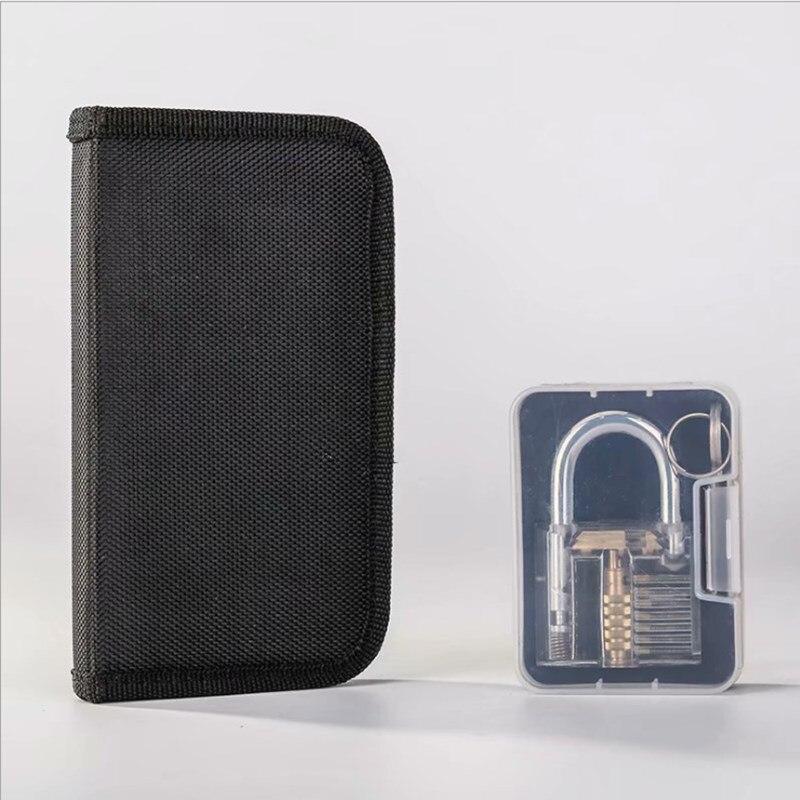 17 Tools Plus 2 Kinds Of Transparent Locks Locksmith Training Padlocks Sales Hot Style