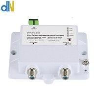 CATV/SATV micro optical transmitter 47 2150MHz 1550NM OTH 2015 3mW FTTH single mode 12V DC