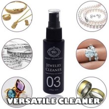 Cleaner Spray Cleaning-Tools Polishing-Cloth Safe Silver 50ML Necklace Jewelry Gold-Block