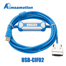 USB CIF02 Download Cable Suitable For Omron CPM1A/2A Series PLC Programming Cable Upgraded CQM1 CIF02 USB Port