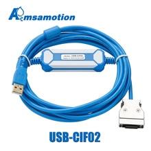 USB CIF02 Tải Cáp Thích Hợp Cho Máy Đo CPM1A/2A Loạt Trình PLC Nâng Cấp CQM1 CIF02 Cổng USB