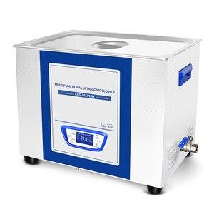 Image 4 - YULU 1.3L Ultraschall Reiniger Sweep Frequenz Degass ultraschall waschen gläser uhr rasiermesser schmuck reinigung mit lcd bildschirm