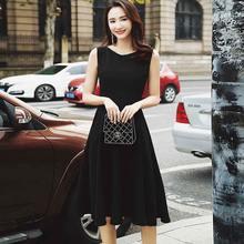 Цельное корейское платье 2020 новое летнее женское Хепберн Модное