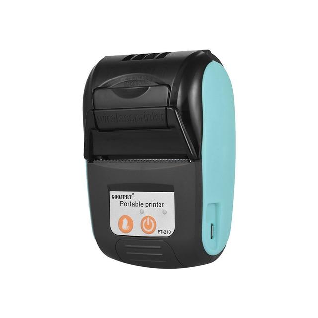 Wireless Mini 58mm Bluetooth Printer Portable Thermal Receipt Printer Mobile Phone Android iOS PC Pocket Bill Impresoras 1