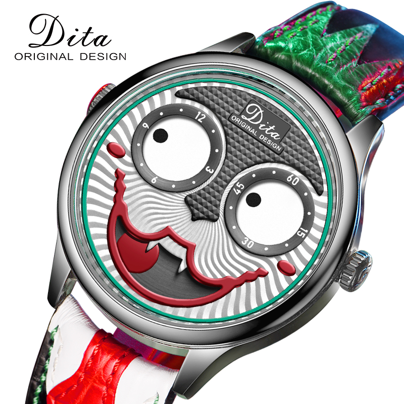 New Arrival 2020 Joker Watch Men Top Brand Luxury Fashion Personality Alloy Quartz Watches Mens Limited Edition Designer Watch(China)