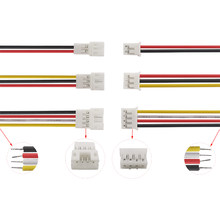 5pcs 10pcs JST Wire Cable Connector 2/3/4/5/6 Pin Pitch JST Male To Female Wire Micro Plug Socket 15CM Length 26AWG
