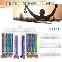 Medale sportowe uchwyt Medal uchwyt na wieszak stojak do montowania na ścianę wystrój biegacz konkurs ramka wyświetlacza organizator tanie tanio CN (pochodzenie) Nowoczesne Metal