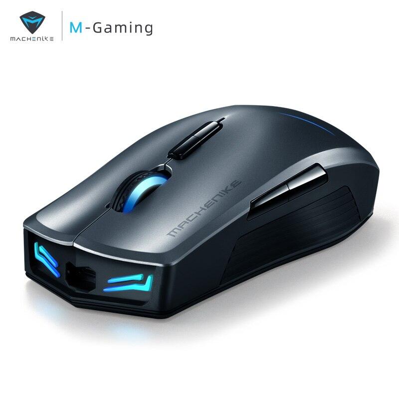 Machenike M7 souris de jeu sans fil souris rvb rétro-éclairage souris rechargeable pour ordinateur portable de bureau PUBG GTA5 CSGO