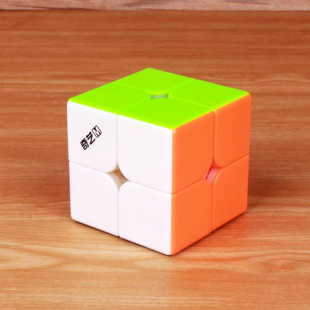 QiYi MS MoFangGe 2x2x2 Magnetic Magic Cube Professional Qiyi MS Series 2×2 Cube Puzzle Stickerless Magnets Speed Cube Qiyi M S
