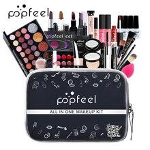 Professional Makeup Kit Matte Eyeshadow Eyeliner Foundation Cream Makeup Bag Concealer Lipstick Makeup Brush Women Make up Kit