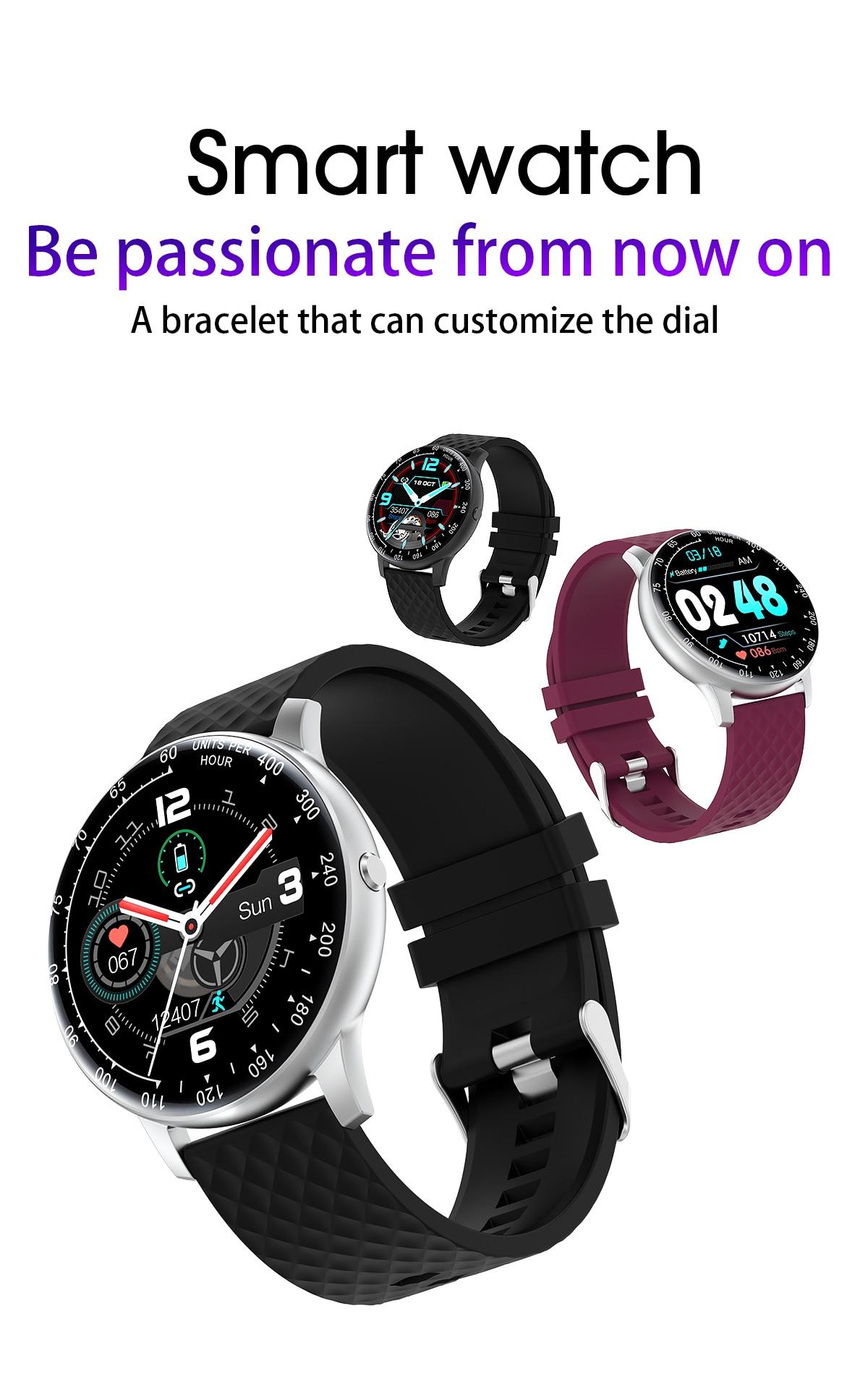Relógio inteligente h30 ip67 à prova dip67