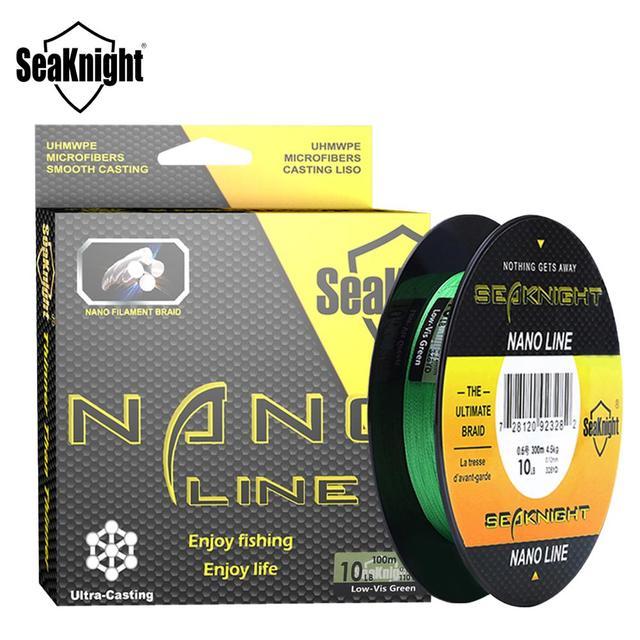 SeaKnight 4 Strands Braided Fishing Line Fishing Lines cb5feb1b7314637725a2e7: Green|Yellow