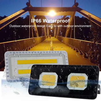 Led Flood Light AC 220V Outdoor Spotlight IP66 Waterproof 200W LED Street Lamp Landscape Lighting White Warm White for Garden