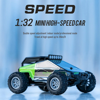 1:32 4CH 2WD 2.4GHz Mini High Speed Remote Control Car Off-Road Vehicle Toys Gif Buggy Car Kids Robot RC Car Toys#G30 1