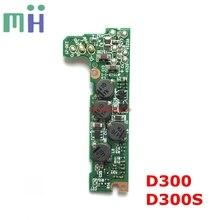 De segunda mão para nikon d300 d300s placa de motorista placa de alimentação dc/dc sz placa de base unidade de reparação de câmera parte