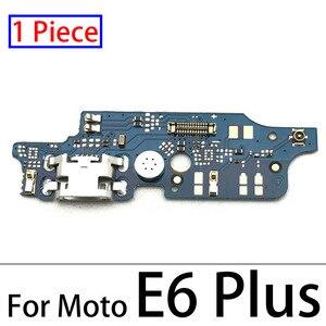 Image 2 - 100pcs,USB Charger Charging Dock Port Connector Flex Cable For Motorola Moto E3 E4 E4T E4 E6 E7 E5 G8 Plus E5 G8 Play Go Power
