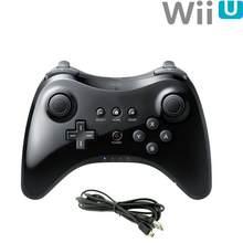 Blueteeth Controlador Gamepad Joystick Com Cabo USB Gatilho sem fio Game Controller Pad Para Nintend Wii U Pro Em Estoque