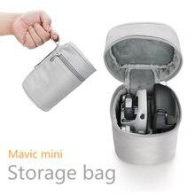 Sac de rangement pour Dji Mavic mini boîtier Drone et télécommande étui de transport Portable fermeture éclair sac de voyage accessoires