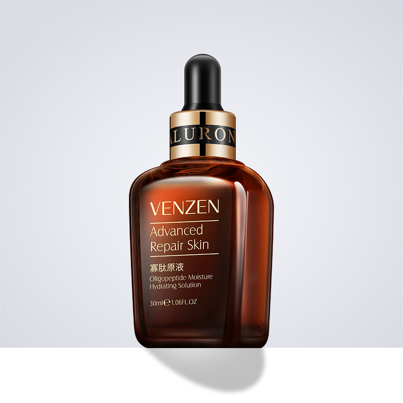 Nicotinamide Hyaluronic Acid Olipeptide Liquid Moisturizing Shrinking Pore Nourishing Rejuvenating Whitening Essence Face Serum