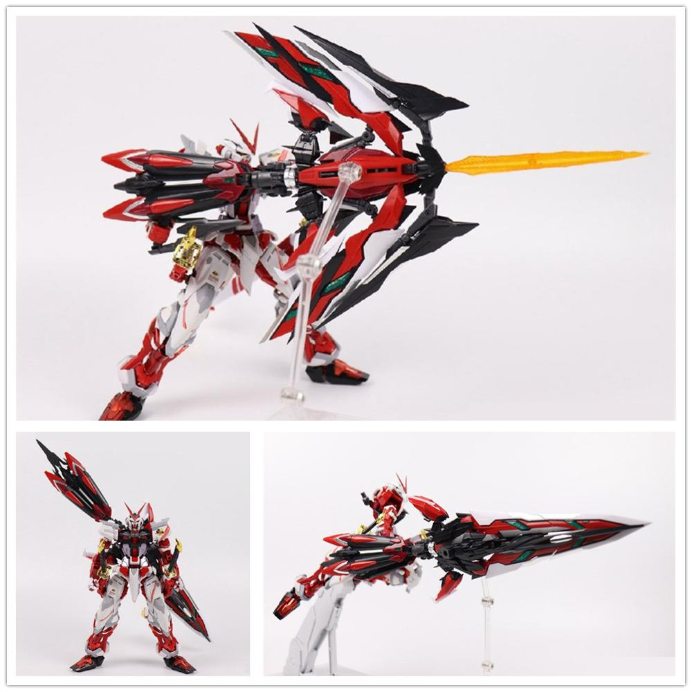 Built MG Gundam Seed Red frame astray 1//100 on decals Assembled action figure
