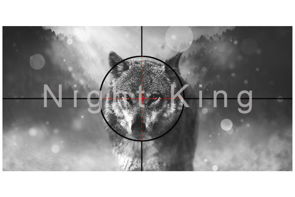 binóculos visão tactical riflescope visão noturna infravermelha com pára-sol