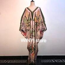 Женское длинное платье макси летнее пляжное Бохо с цветочным