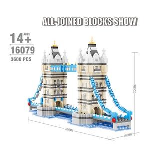 Image 5 - Cityเข้ากันได้กับสถาปัตยกรรมMini Building Blocks Worldที่มีชื่อเสียงสถาปัตยกรรมรูปปั้นLibertyของเล่นเด็กของขวัญ