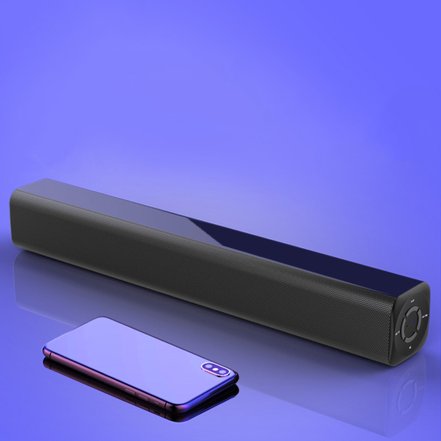 New Portable 10W Soundbar Wireless Bluetooth Stereo Speaker with Remote Control for Home Theater /TV/PC/Phones/Tablets Malaysia